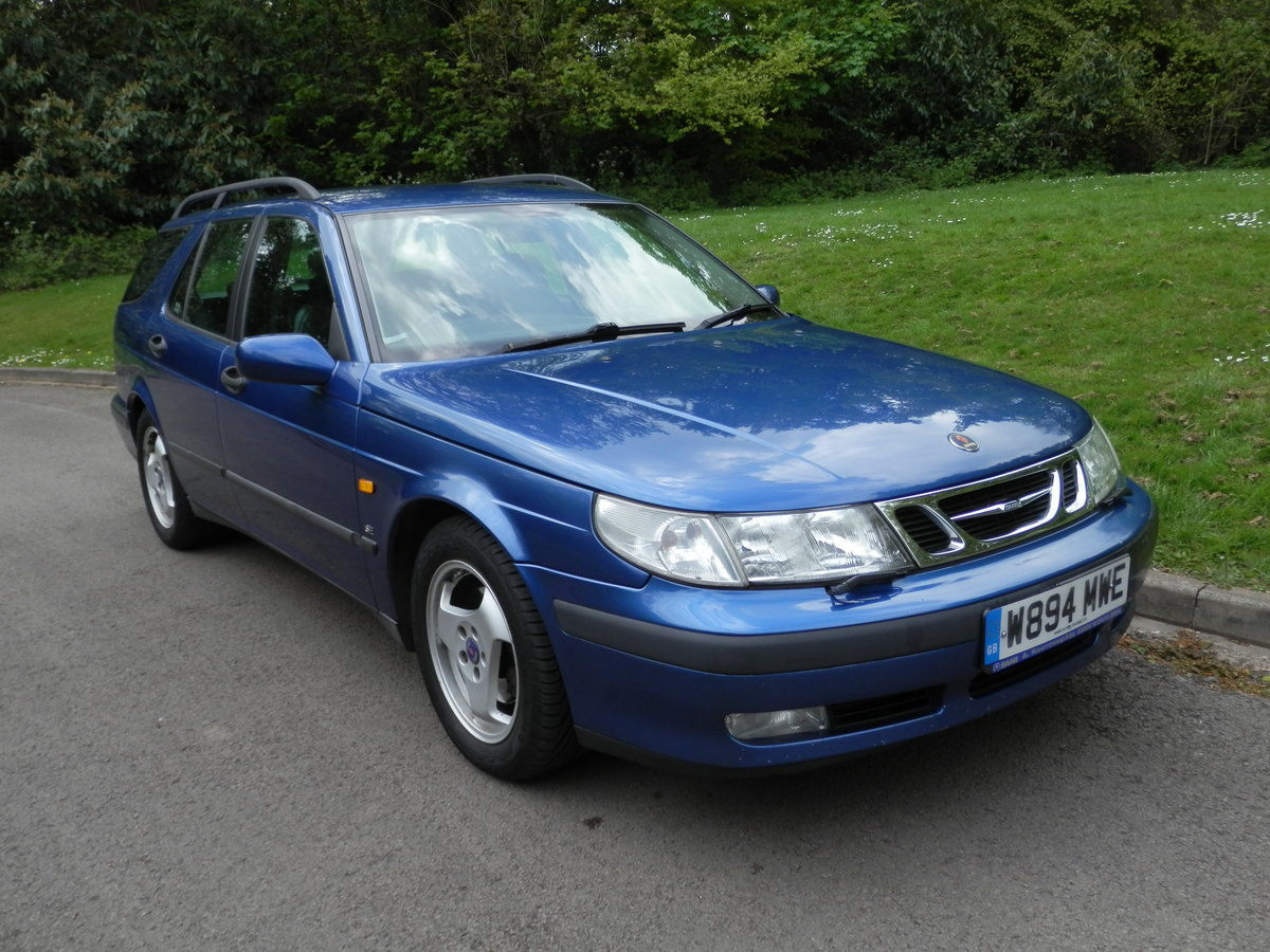 2000 SAAB 9-5 SE ESTATE.. AUTOMATIC.. LEATHER.. 2 OWNERS.. FSH.. For Sale (picture 2 of 6)