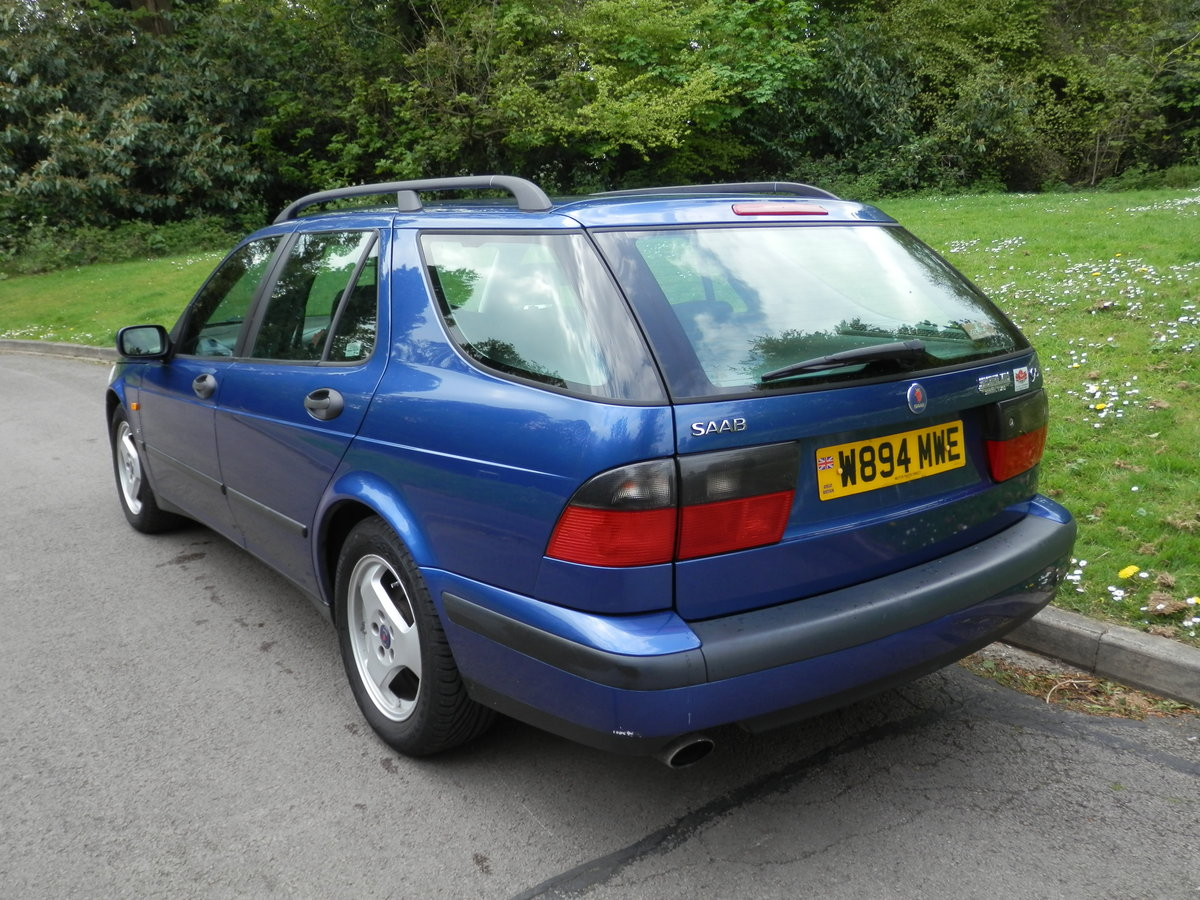 2000 SAAB 9-5 SE ESTATE.. AUTOMATIC.. LEATHER.. 2 OWNERS.. FSH.. For Sale (picture 5 of 6)