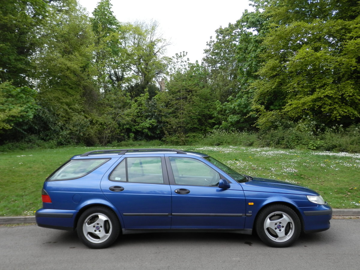 2000 SAAB 9-5 SE ESTATE.. AUTOMATIC.. LEATHER.. 2 OWNERS.. FSH.. For Sale (picture 6 of 6)