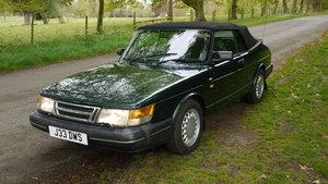 1992 Saab 900i 16v Convertible 89k miles