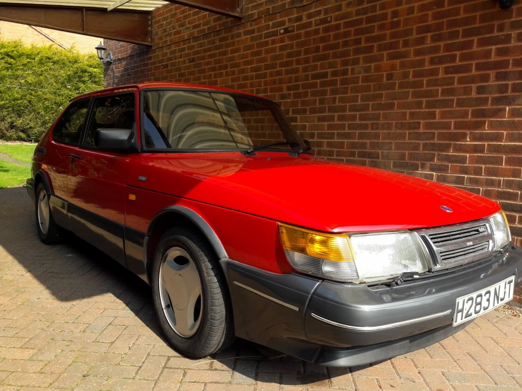 1991 Classic Saab 900 LPT For Sale (picture 1 of 6)