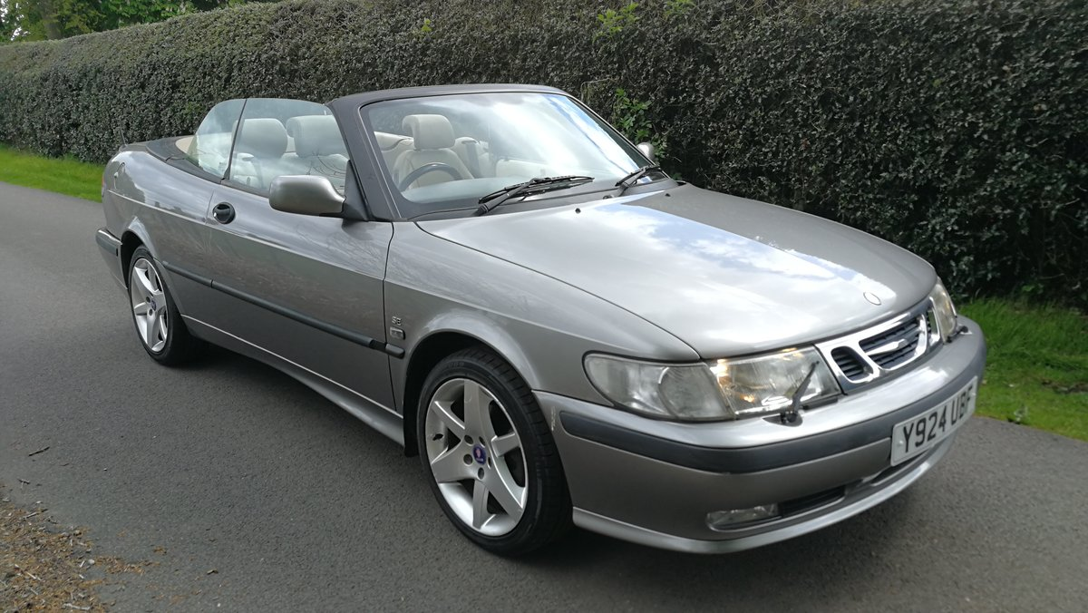 2001 Saab 9-3 SE Turbo Automatic  SOLD (picture 5 of 6)
