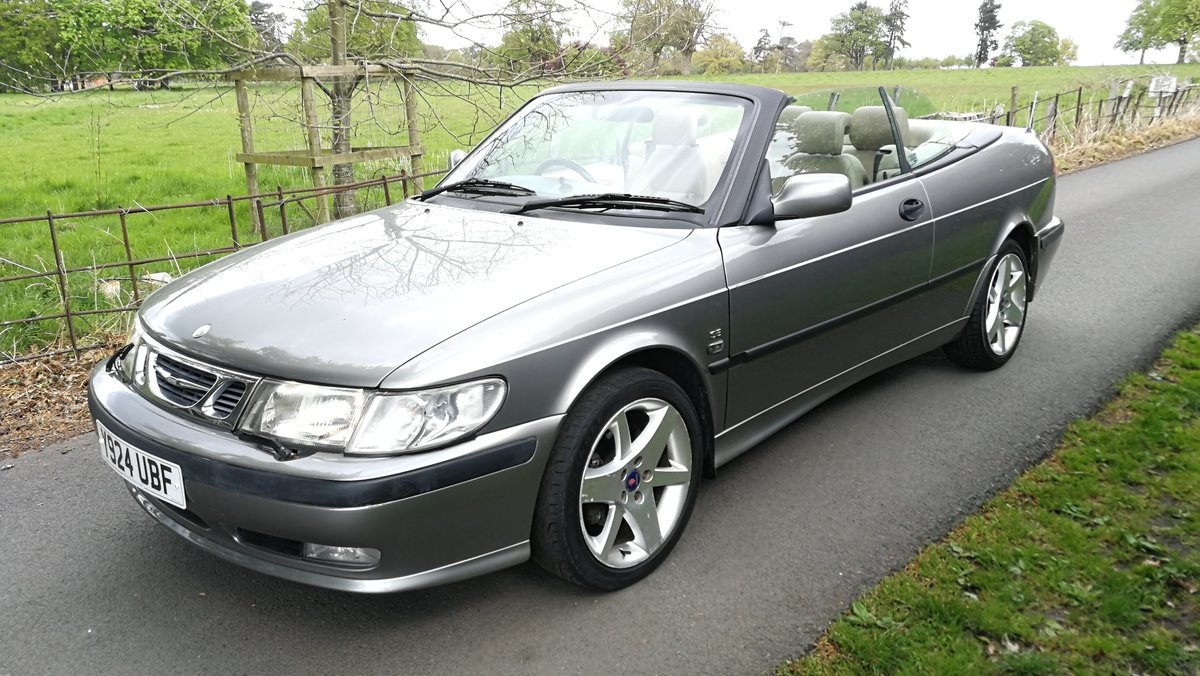 2001 Saab 9-3 SE Turbo Automatic  SOLD (picture 1 of 6)