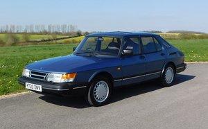 1993 Saab 900 SE 16v For Sale by Auction