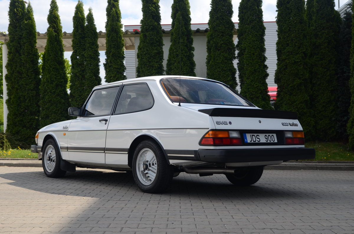 1986 Saab 900 Turbo 2 dr sedan ( very rare ) For Sale (picture 6 of 6)