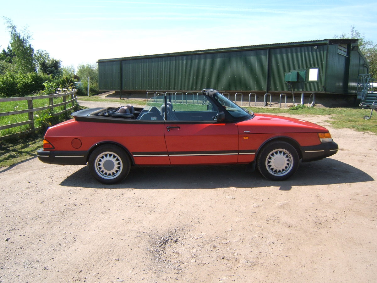 1993 Saab 900i, non-turbo Convertible SOLD (picture 3 of 6)