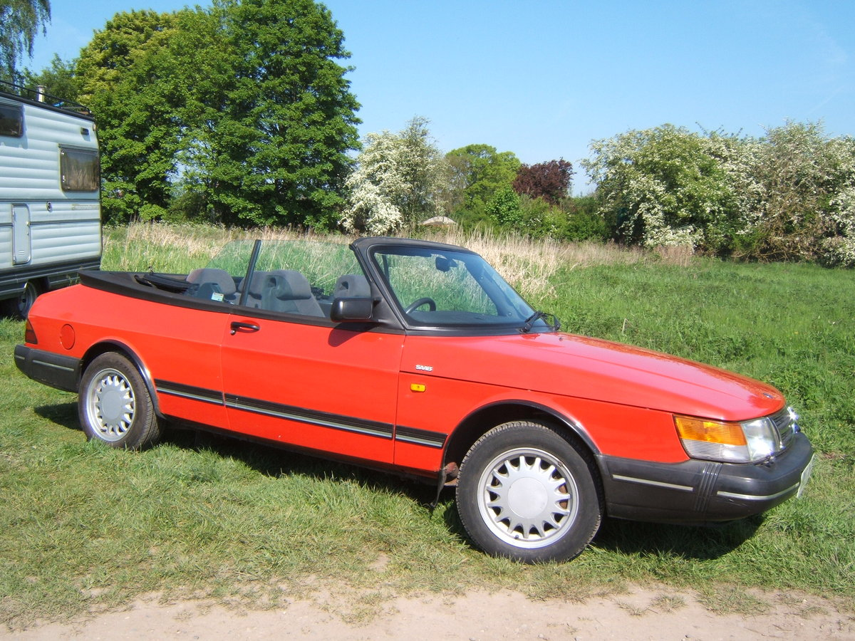1993 Saab 900i, non-turbo Convertible SOLD (picture 6 of 6)
