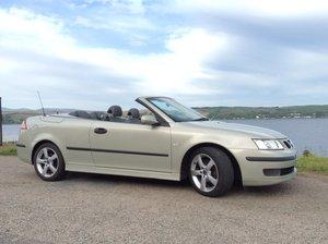 2007 Saab 9-3 Convertible 2.0 Turbo Petrol 5 Speed Auto