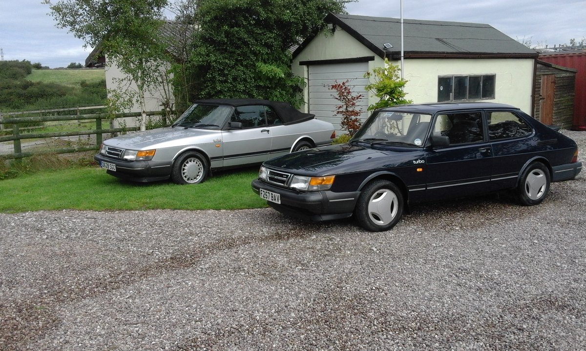 1989 Classic saab 900 turbo 8v For Sale (picture 5 of 6)