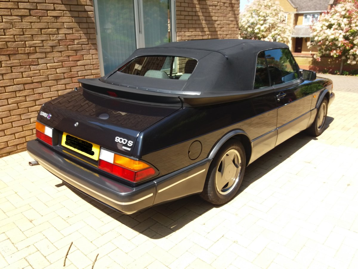1993 900 Convertible 76,878 Mls Extensive FSH l/o For Sale (picture 1 of 4)