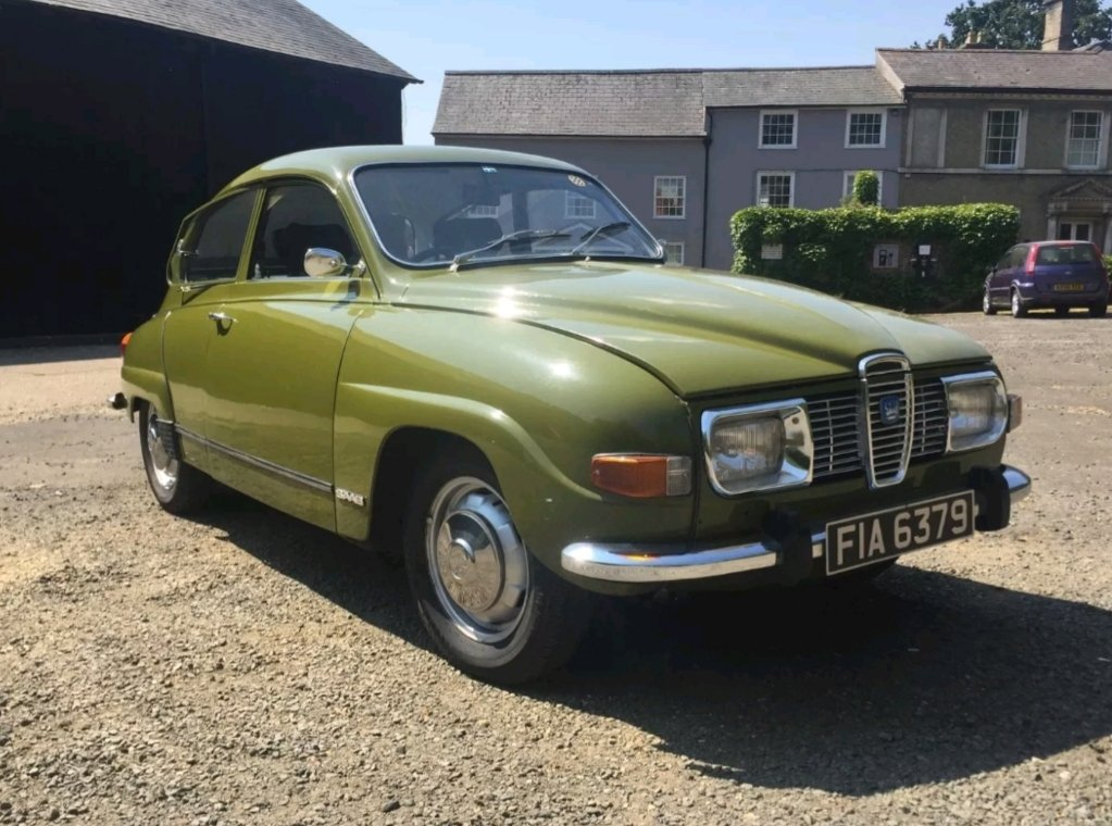 1972 Saab 96 V4 For Sale (picture 1 of 6)