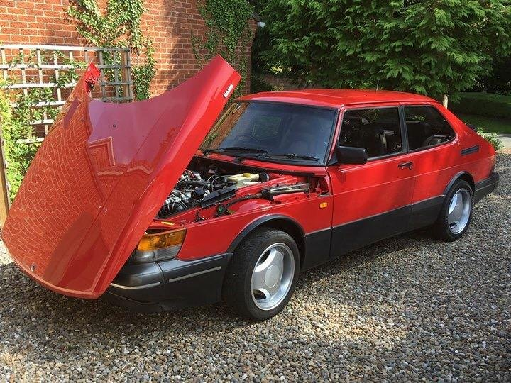 1992 Saab 900 S Aero Turbo In Outstanding Condition For Sale (picture 1 of 6)