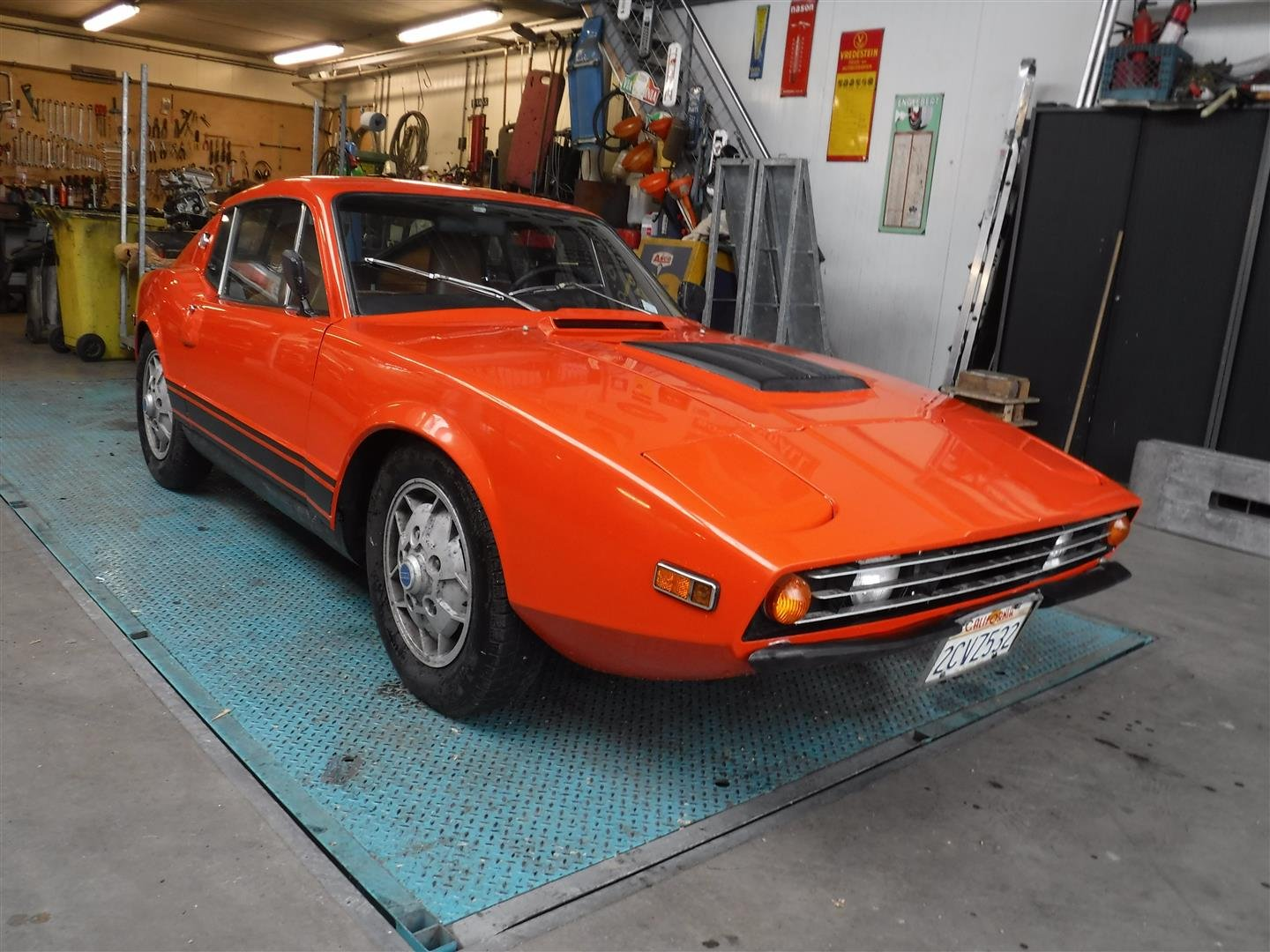 "1971 Saab Sonnet  ""orange"" '71 For Sale (picture 1 of 6)"