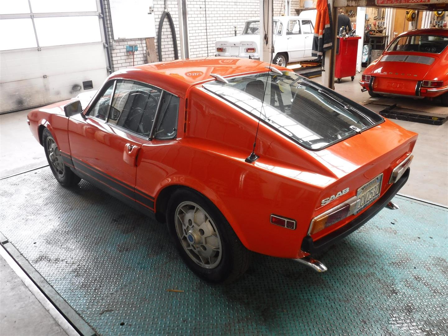 "1971 Saab Sonnet  ""orange"" '71 For Sale (picture 3 of 6)"