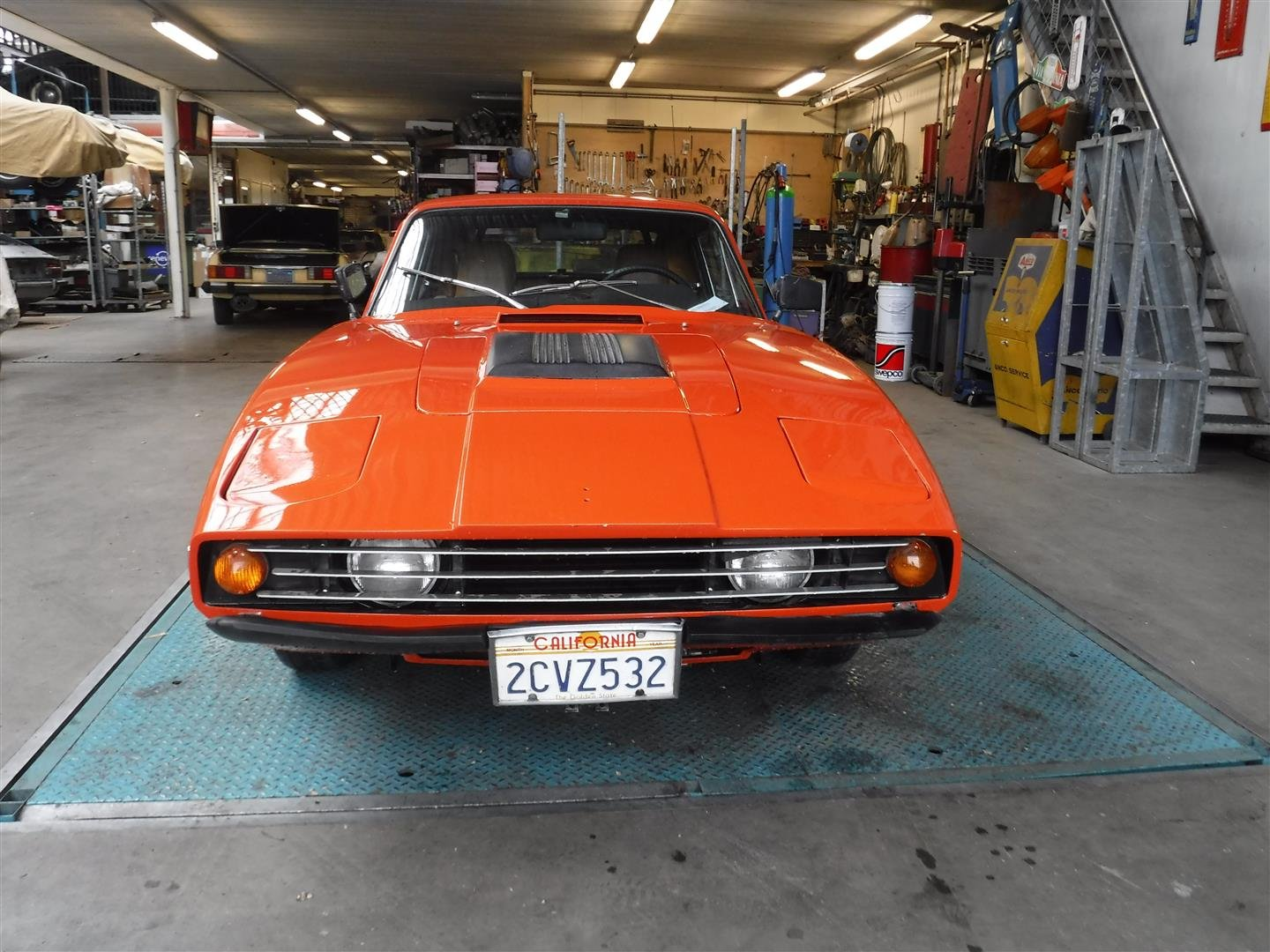 "1971 Saab Sonnet  ""orange"" '71 For Sale (picture 4 of 6)"