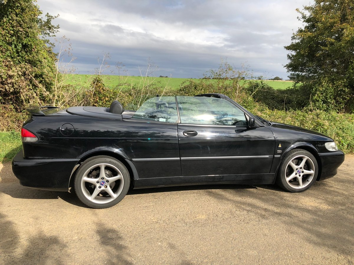 2000 Saab 9-3 2.3 HOT VIGGEN Convertible - black For Sale (picture 2 of 6)