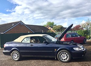 Very Nice Low Mileage 1998 SAAB Convertible For Sale