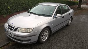 2006 06(56 reg.) Saab 93 diesel1.9, 46K miles,full MOT For Sale