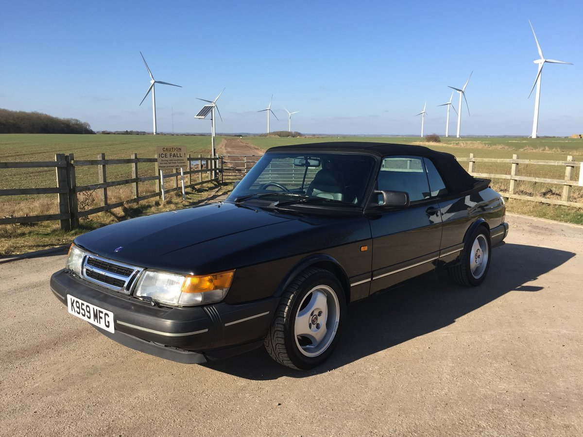 1992 Classic SAAB 900 Convertible For Sale (picture 4 of 6)