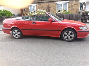 2002 saab 9.3 convertible low mileage   For Sale