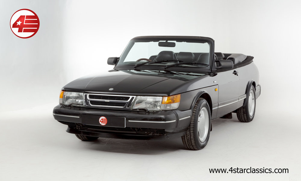 1992 Saab 900i 16v Cabriolet /// Lovely Example /// 119k Miles For Sale (picture 1 of 6)