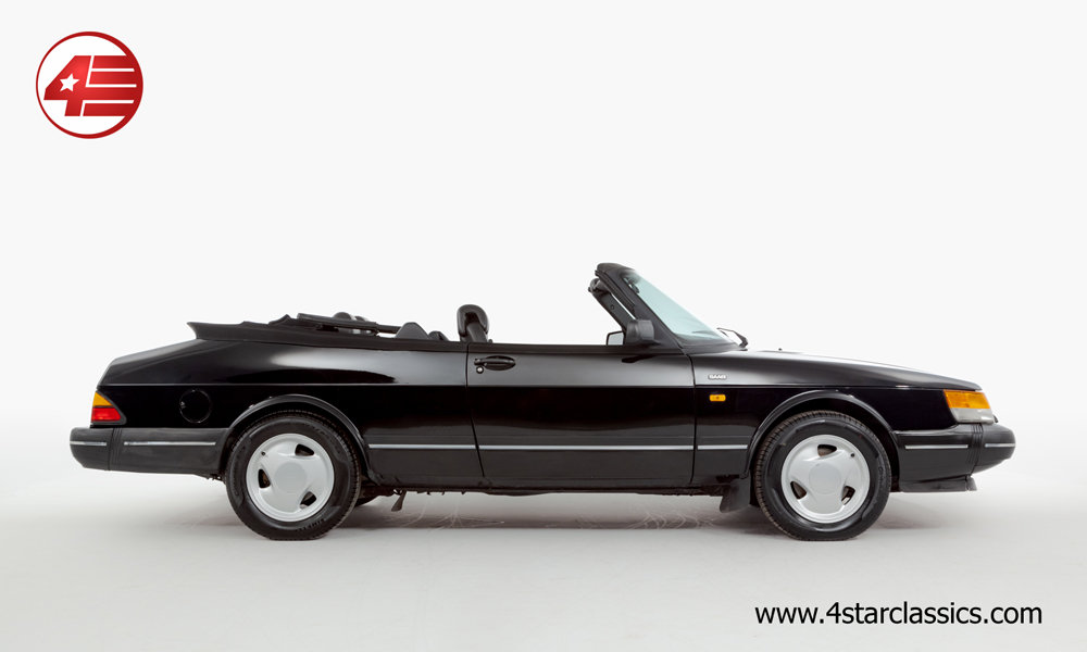 1992 Saab 900i 16v Cabriolet /// Lovely Example /// 119k Miles For Sale (picture 2 of 6)