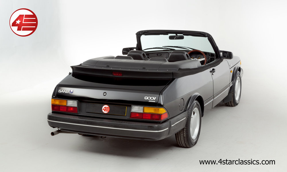 1992 Saab 900i 16v Cabriolet /// Lovely Example /// 119k Miles For Sale (picture 3 of 6)