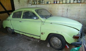 1975 Saab 96L, 1,498 cc. For Sale by Auction