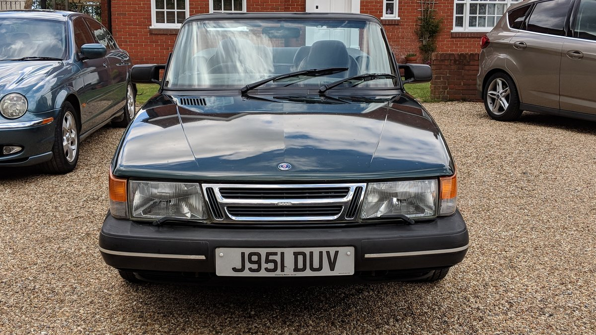 1992 Saab 900i 16v 5-speed Classic Convertible SOLD (picture 1 of 6)