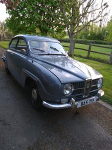 1966 Saab 96 - Trippel Carb Two Stroke For Sale