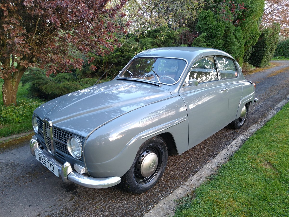 1966 Saab 96 - Trippel Carb Two Stroke For Sale (picture 2 of 6)