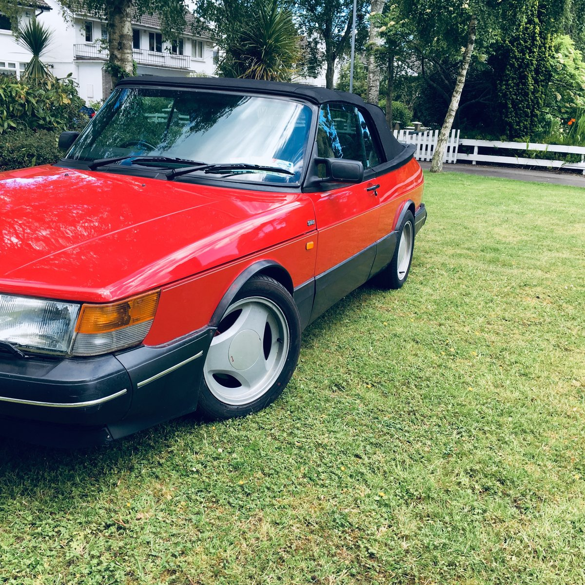 1992 Saab 900 Turbo Convertible with Charge Cooler For Sale (picture 6 of 6)