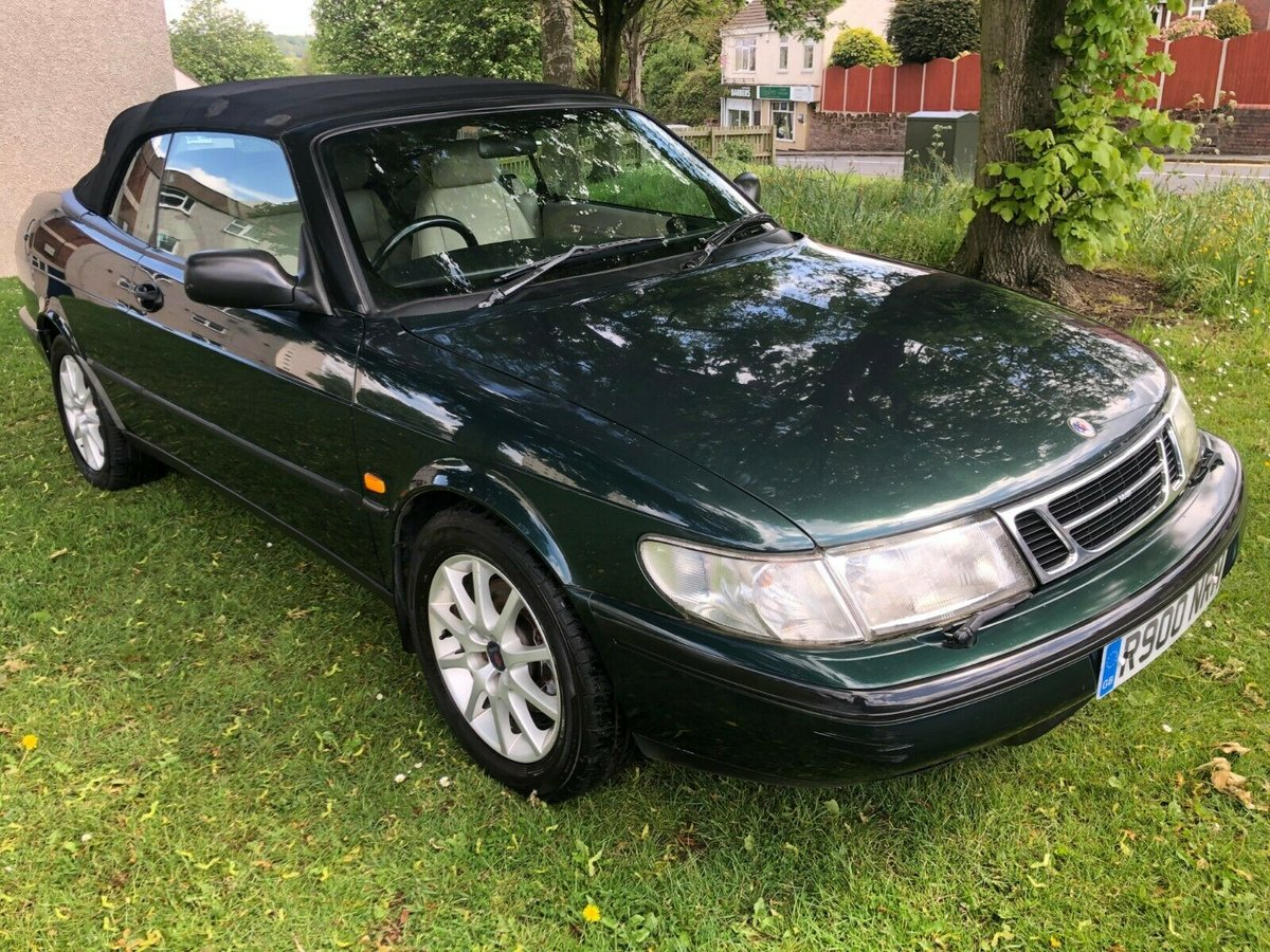 1998 SAAB 900 2.3i SE Auto Convertible - 82,000 Miles SOLD (picture 1 of 6)