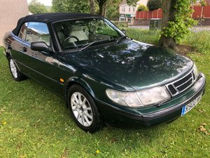 1998 SAAB 900 2.3i SE Auto Convertible - 82,000 Miles SOLD