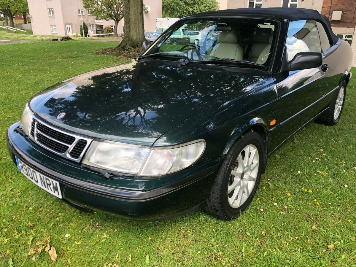 1998 SAAB 900 2.3i SE Auto Convertible - 82,000 Miles SOLD (picture 2 of 6)