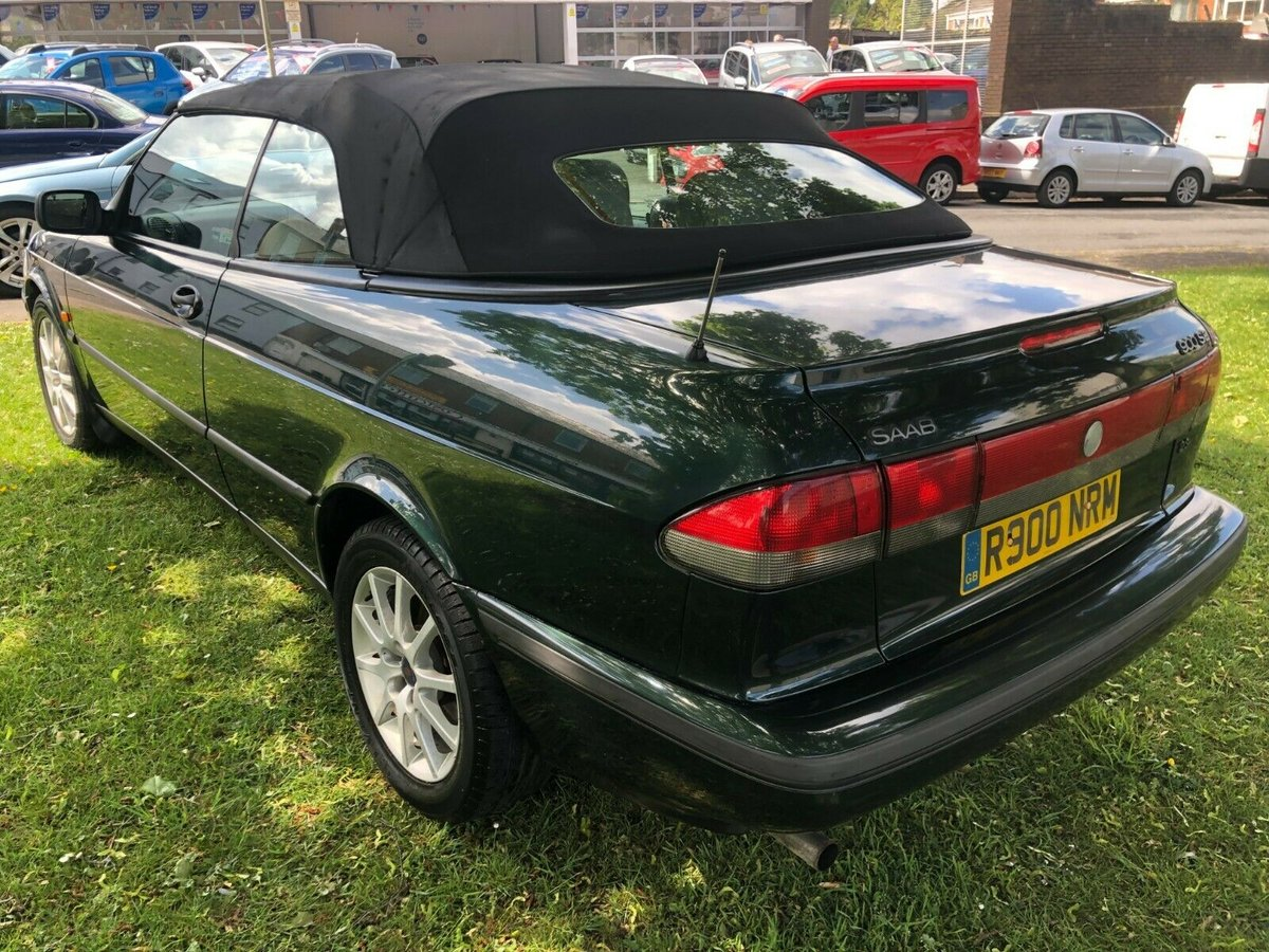 1998 SAAB 900 2.3i SE Auto Convertible - 82,000 Miles SOLD (picture 4 of 6)
