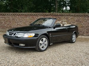2003 Saab 9-3 2.0 Turbo Convertible only 58.836 miles, two owners