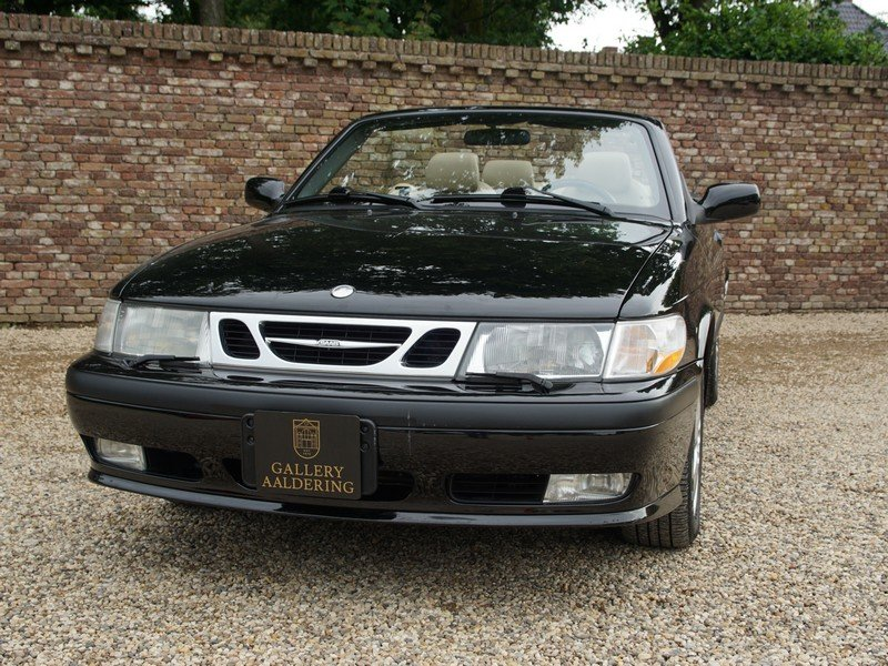 2003 Saab 9-3 2.0 Turbo Convertible only 58.836 miles, two owners For Sale (picture 5 of 6)