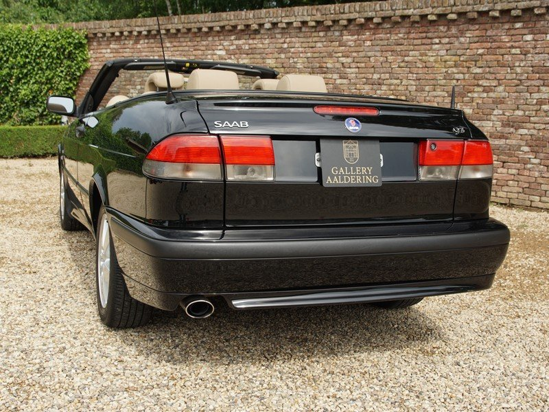 2003 Saab 9-3 2.0 Turbo Convertible only 58.836 miles, two owners For Sale (picture 6 of 6)