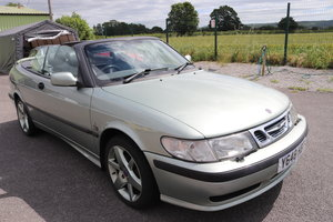 2001 Saab 93 S, convertible For Sale