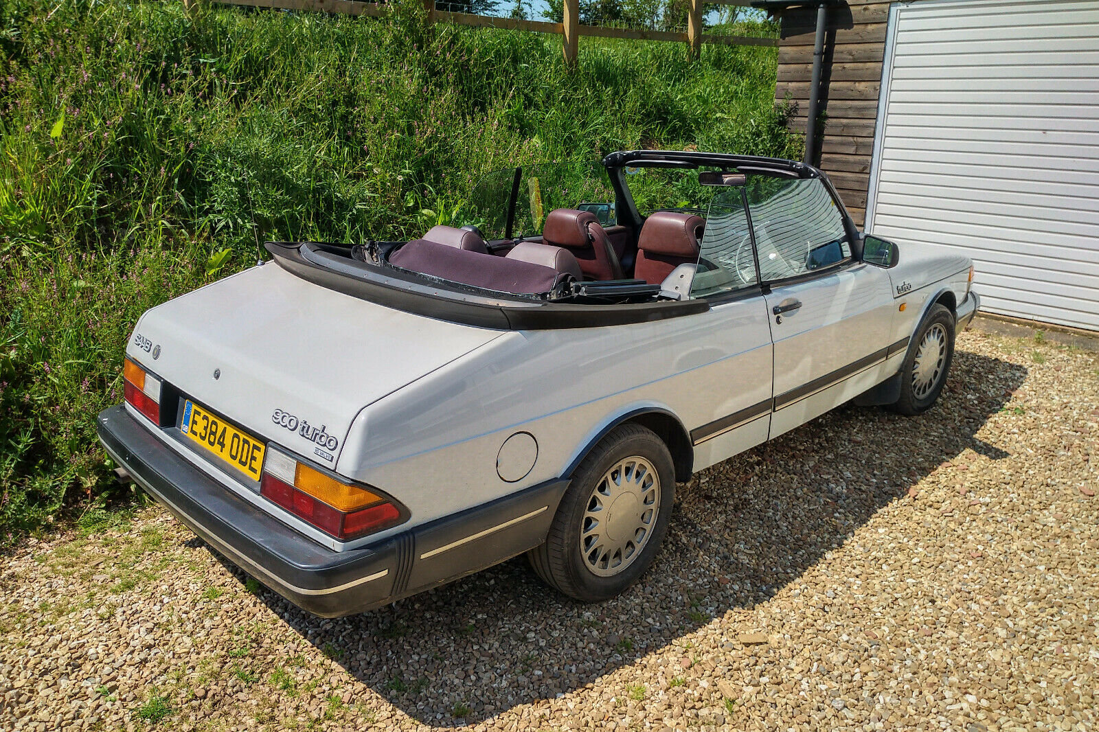 1988 Saab 900 Classic Full Power Turbo Convertible For Sale (picture 3 of 6)