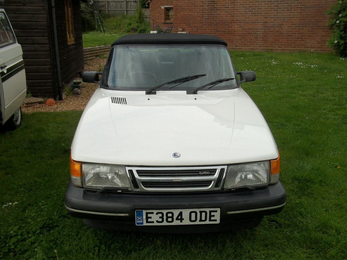 1988 Saab 900 Classic Full Power Turbo Convertible For Sale (picture 4 of 6)