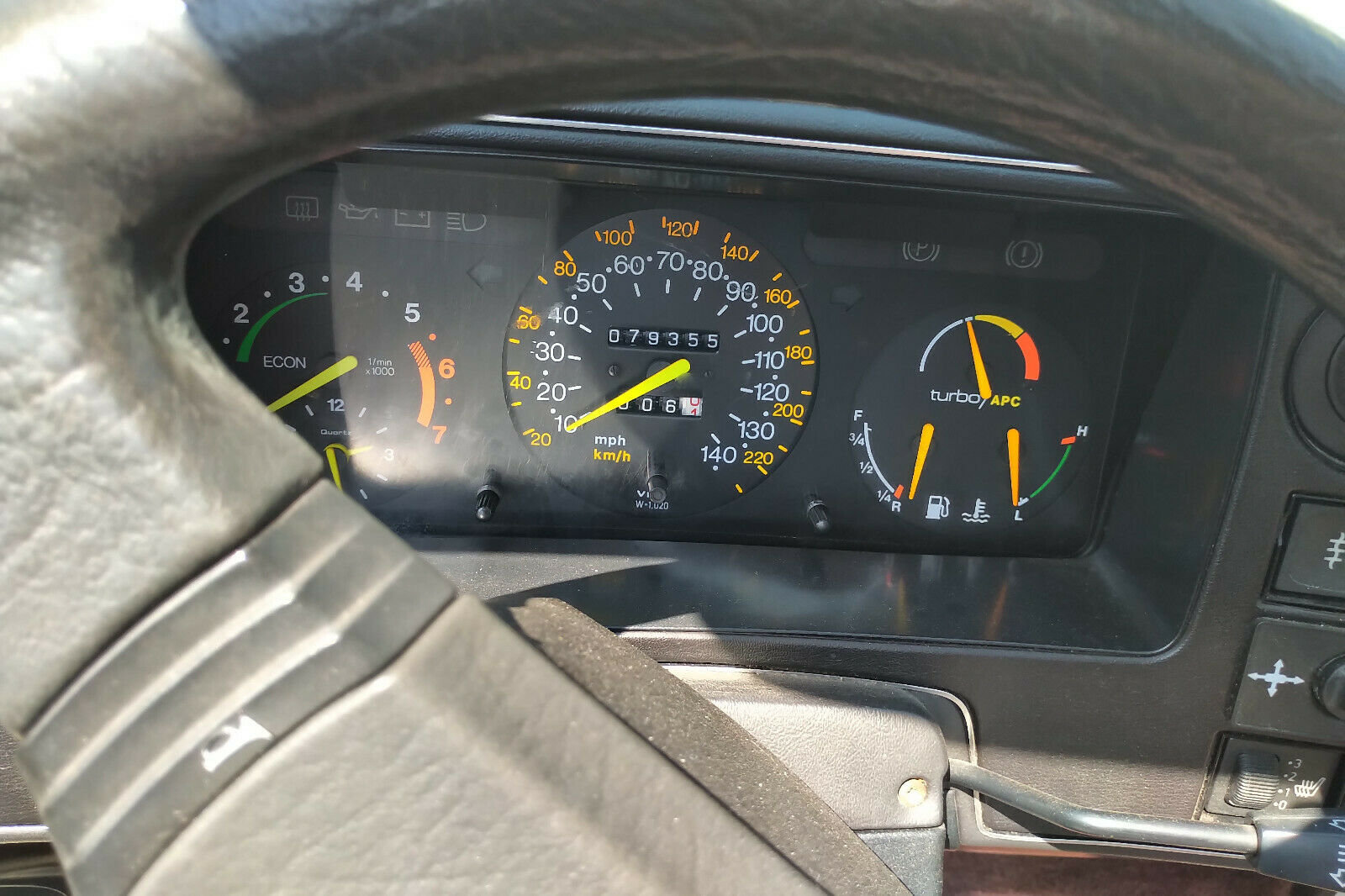 1988 Saab 900 Classic Full Power Turbo Convertible For Sale (picture 6 of 6)