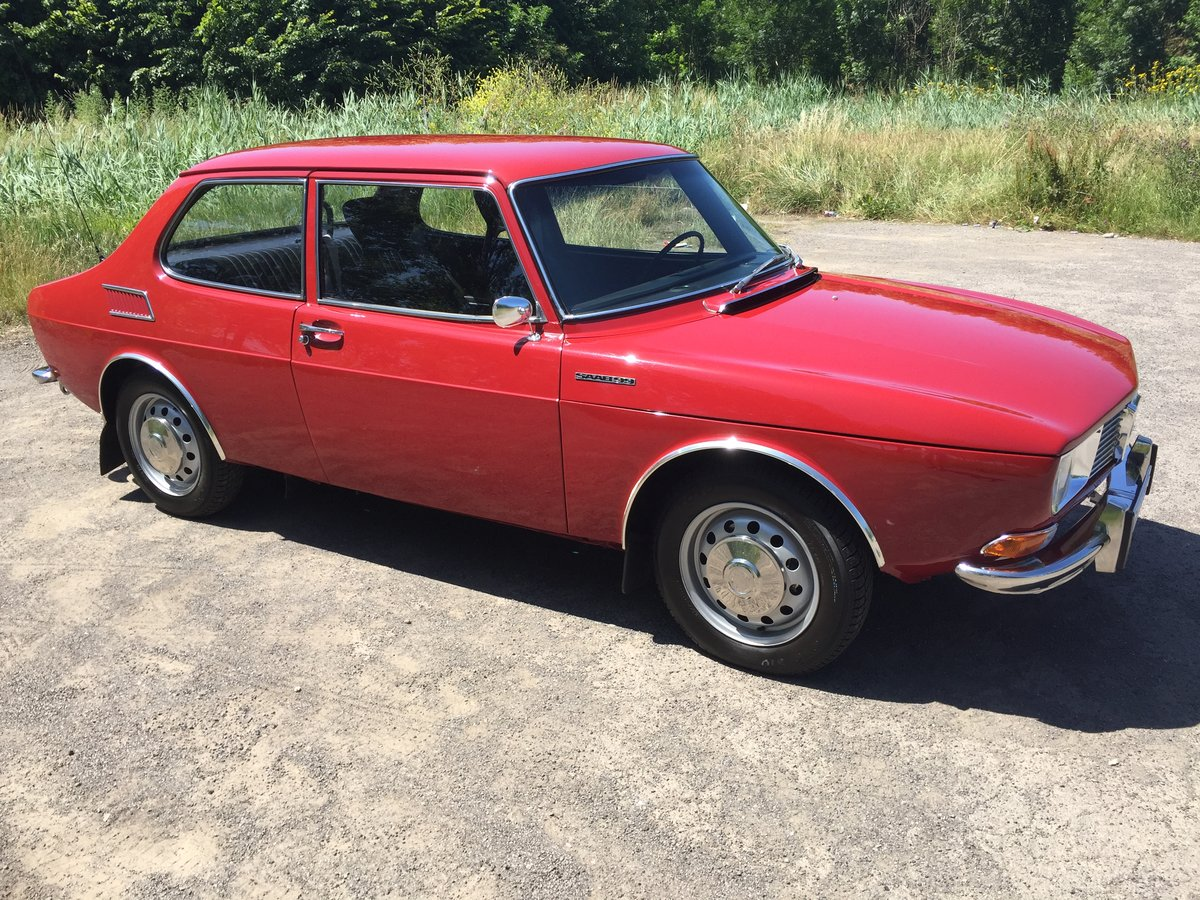 1969 Saab 99 first series in mint condition ! For Sale (picture 2 of 6)