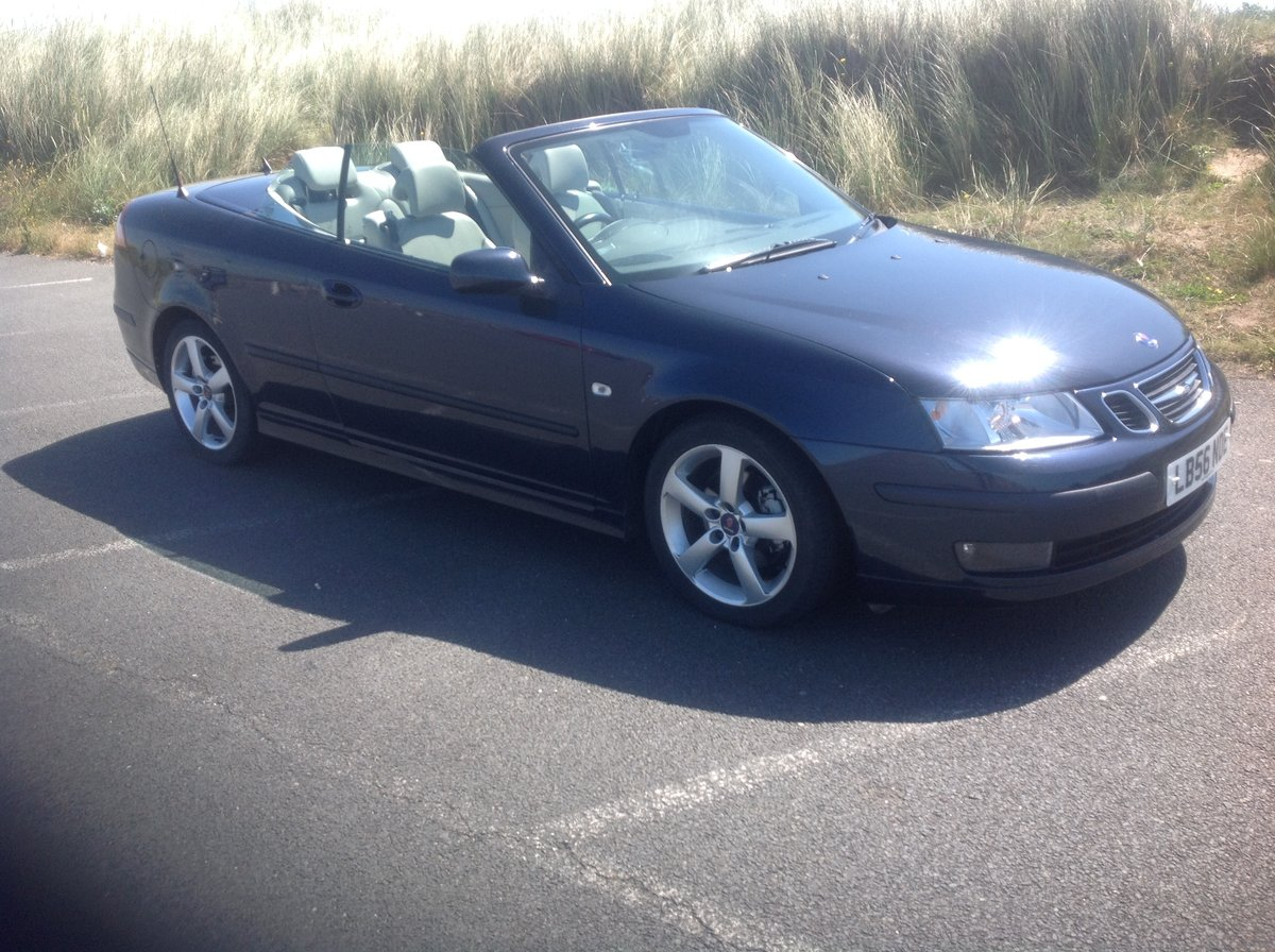 2006 Saab 93 Cabriolet Topless Swede for 2021 For Sale (picture 1 of 6)