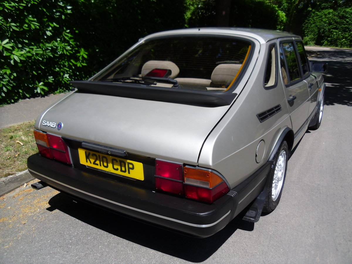 1992 Saab 900i Exceptionally rare one off car!! For Sale (picture 2 of 6)
