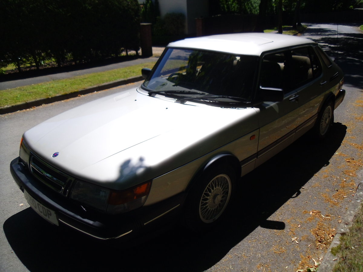 1992 Saab 900i Exceptionally rare one off car!! For Sale (picture 3 of 6)