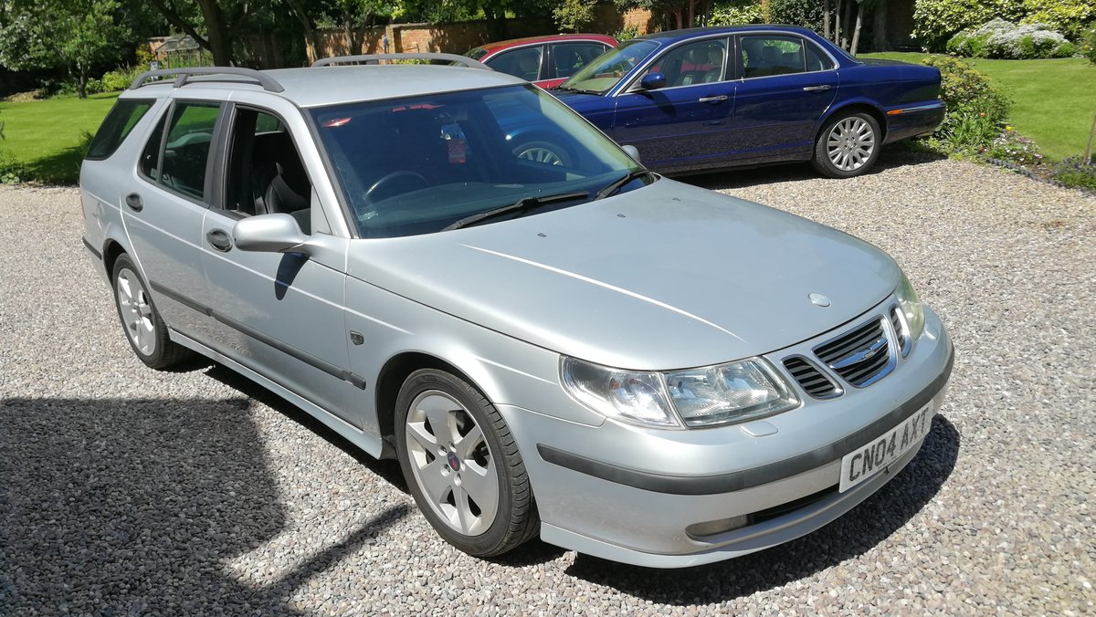 2004 Saab 9-5 2.2 TID Vector Sport Estate 110k FSH For Sale (picture 1 of 6)