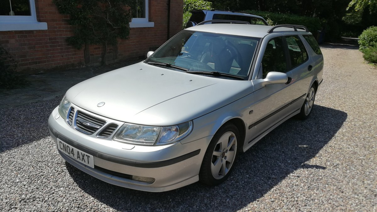 2004 Saab 9-5 2.2 TID Vector Sport Estate 110k FSH For Sale (picture 2 of 6)