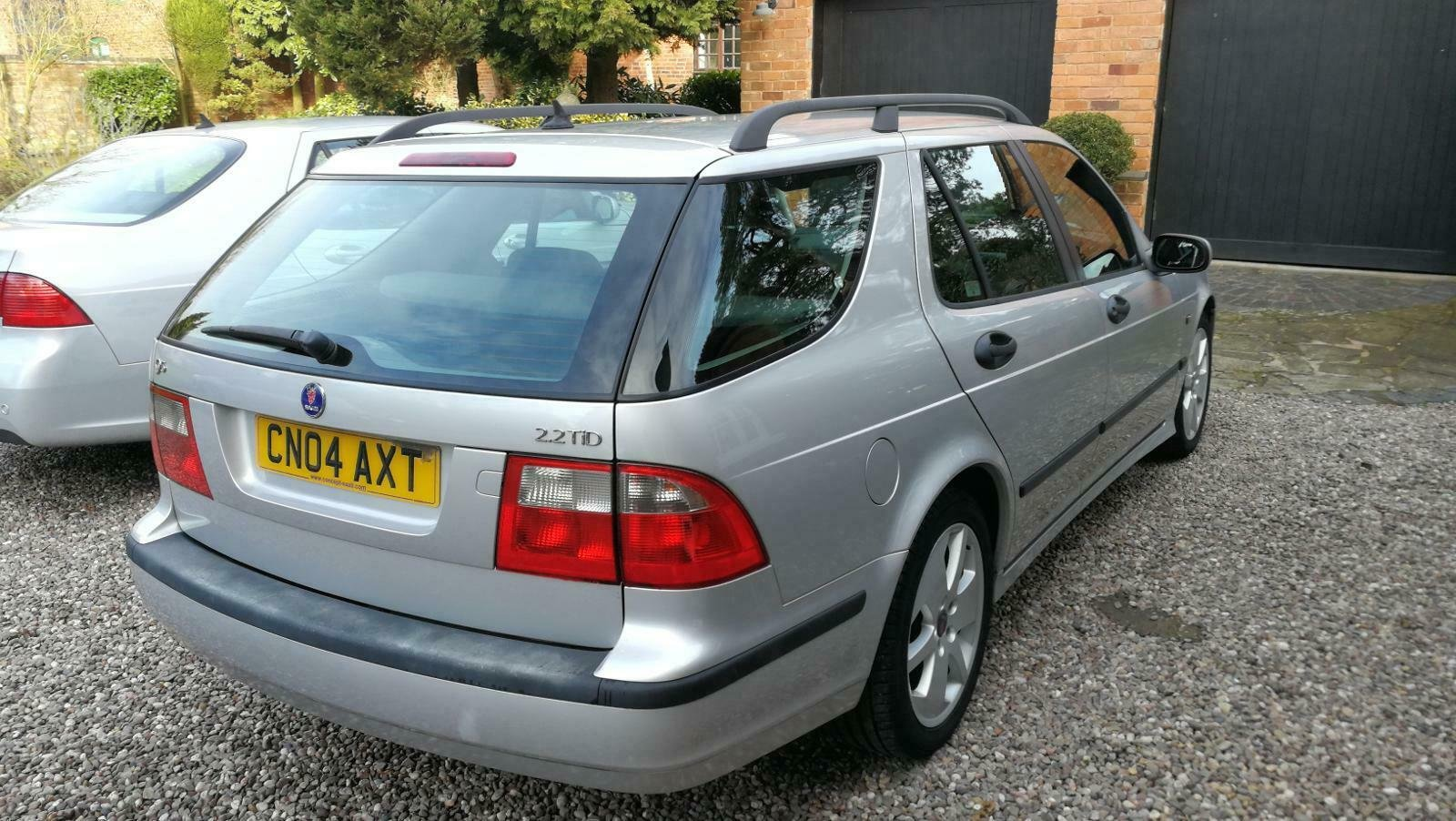 2004 Saab 9-5 2.2 TID Vector Sport Estate 110k FSH For Sale (picture 4 of 6)